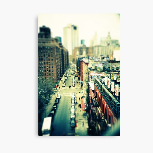 Chinatown Tilt-Shift Canvas Print