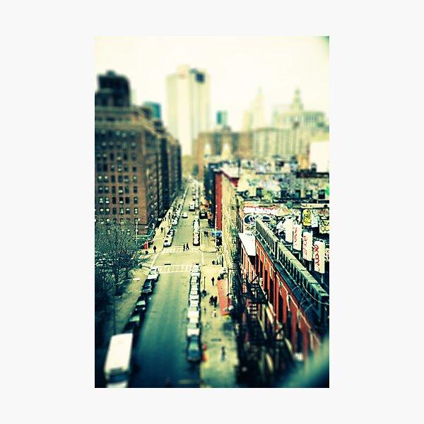 Chinatown Tilt-Shift Photographic Print