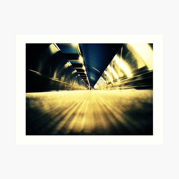 Stockholm Underground Art Print