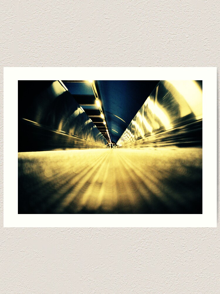Alternate view of Stockholm Underground Art Print