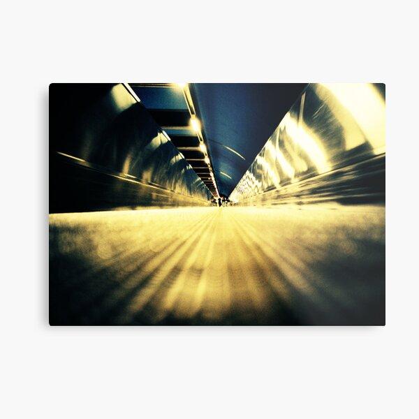Stockholm Underground Metal Print