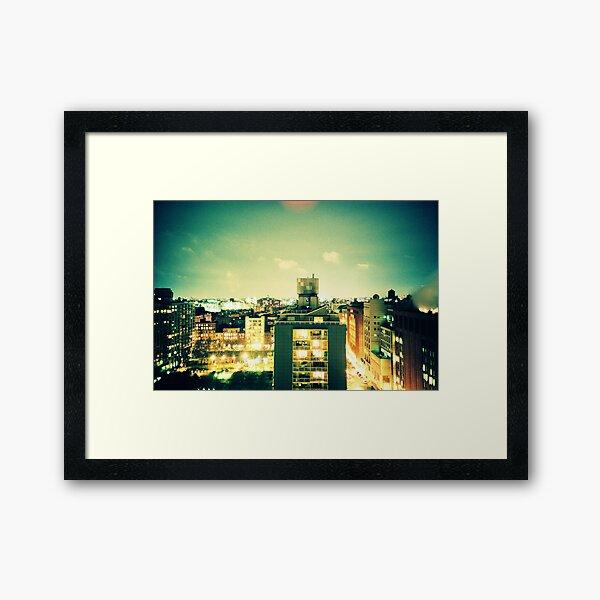NYU Framed Art Print