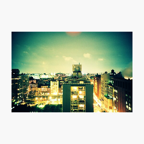 NYU Photographic Print