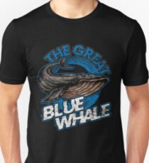 The Great Blue Whale Unisex T-Shirt