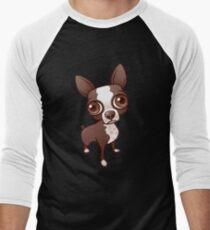 Cute Chihuahua  Men's Baseball ¾ T-Shirt