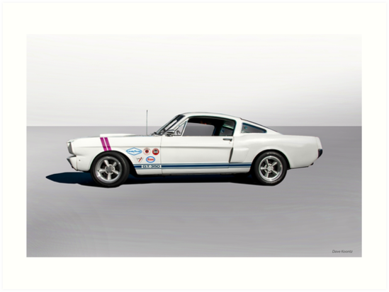 1966 Shelby Mustang GT350 Fastback II By DaveKoontz