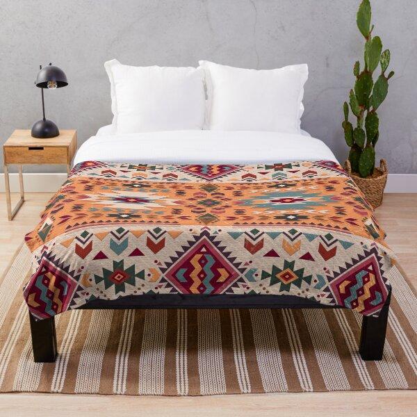 Navajo Design Throw Blanket