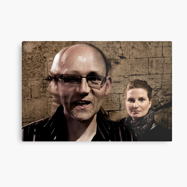 Paul & Joanne in the Old Town Metal Print