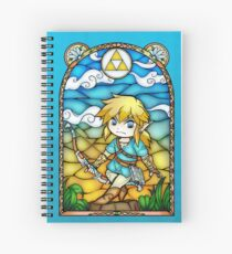 Breath of the Wild Stained Glass Spiral Notebook