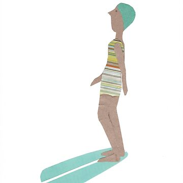 Retro surfer by sandymitchell