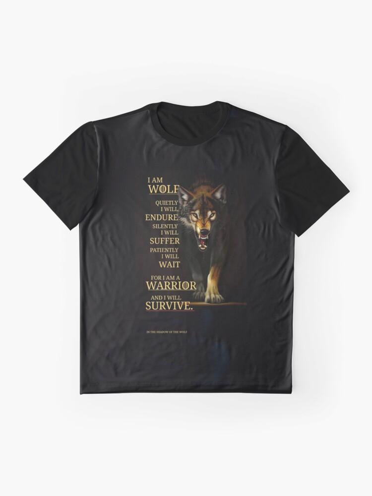 Alternate view of I Am A Warrior  Graphic T-Shirt