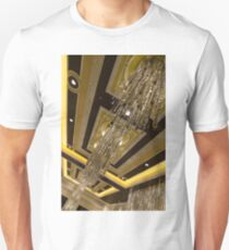 Golden Jewels and Gems - Sparkling Crystal Chandeliers  Unisex T-Shirt