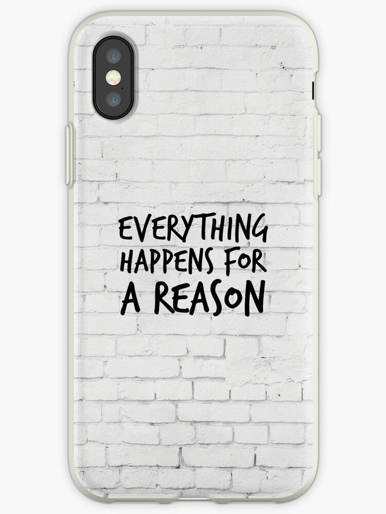 Everything Happens For A Reason Marilyn Monroe Quote Iphone Cases