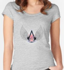 Assassin wings Women's Fitted Scoop T-Shirt