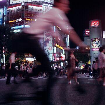 Shibuya crossing in motion - Tokyo, Japan by RobbeRNL