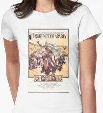 Vintage Movie Poster - Lawrence of Arabia Women's Fitted T-Shirt