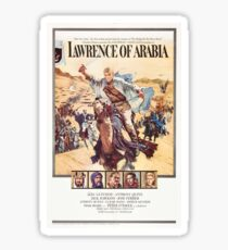 Vintage Movie Poster - Lawrence of Arabia Sticker