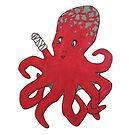 Octavia the Octopus by hollybrooker4rt