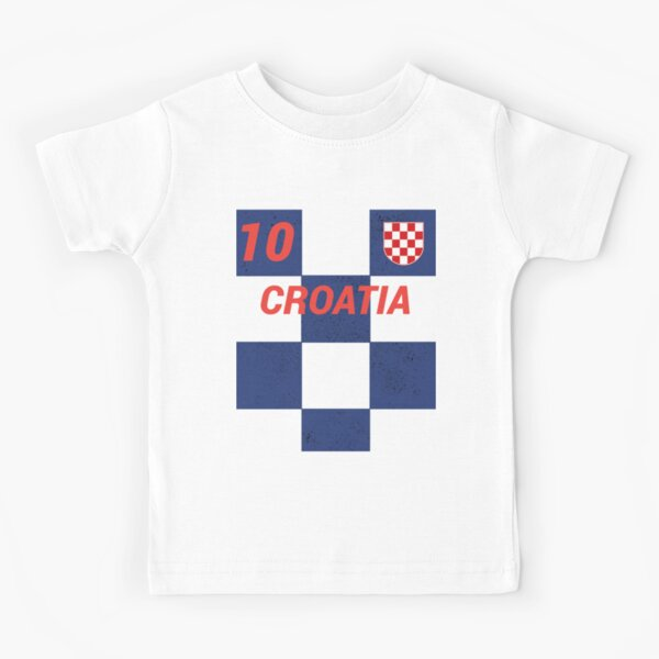 Croatia World Football Soccer Jersey Style Baby//Toddler Unisex One-Pieces Flag