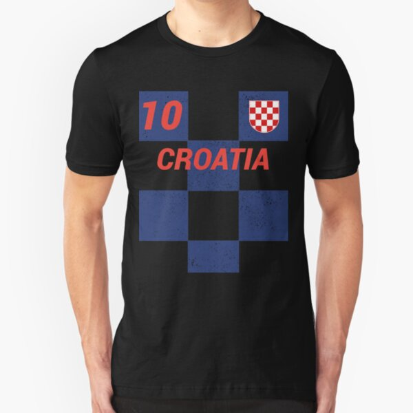 NYC FACTORY Croatia Flag Tee T-Shirt Unisex Toddler Vintage Retro I Shirt