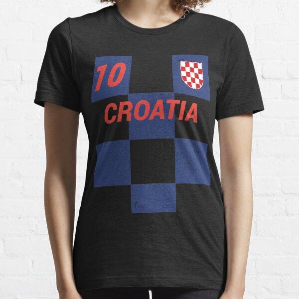 Croatia World Soccer Jersey T-Shirt, Croatian Football Shirt Essential T-Shirt