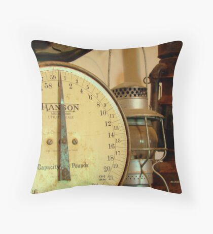 The Weight Of Age Throw Pillow