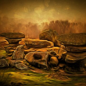 A Rocky Outcrop in Yorkshire by ZipaC