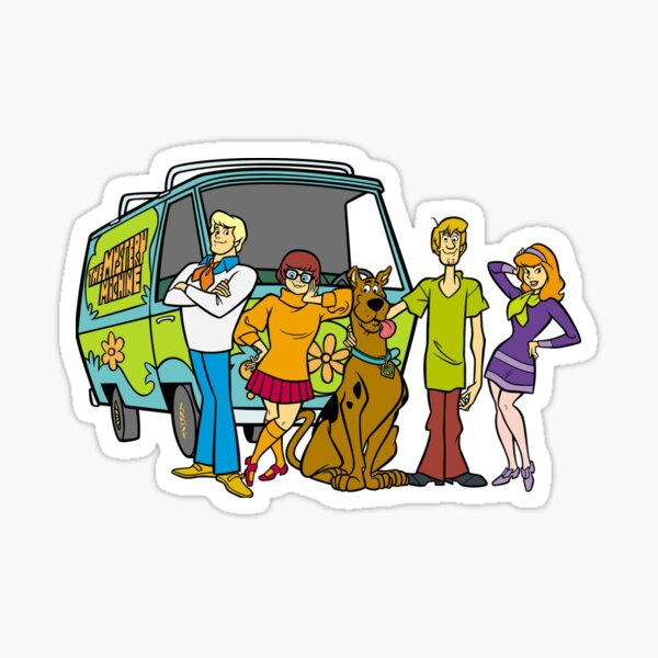 Scooby Doo Sticker