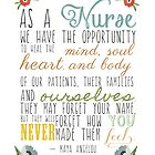 As A Nurse Maya Angelou Quote by maybe-sparrow