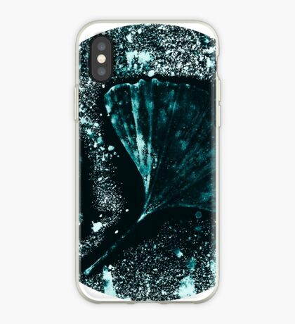 Mystérieuse Ginkgo Coque et skin iPhone