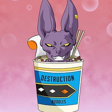 Destruction Noodles by annnadary