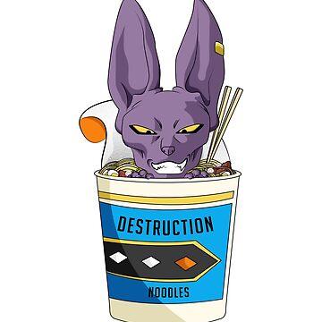 Destruction Noodles 2 by annnadary