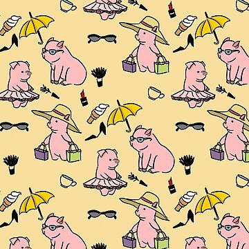 Pig Pattern by catherinehom