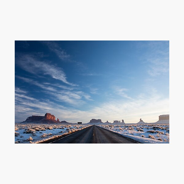Monument Valley Drive Photographic Print