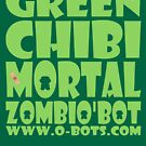 ZOMBIO'BOT: Green Chibi Mortal by Carbon-Fibre Media