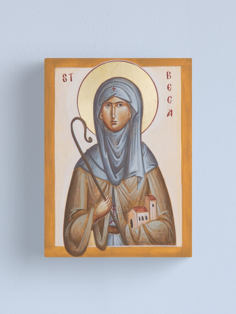 Alternate view of St Bega Canvas Print
