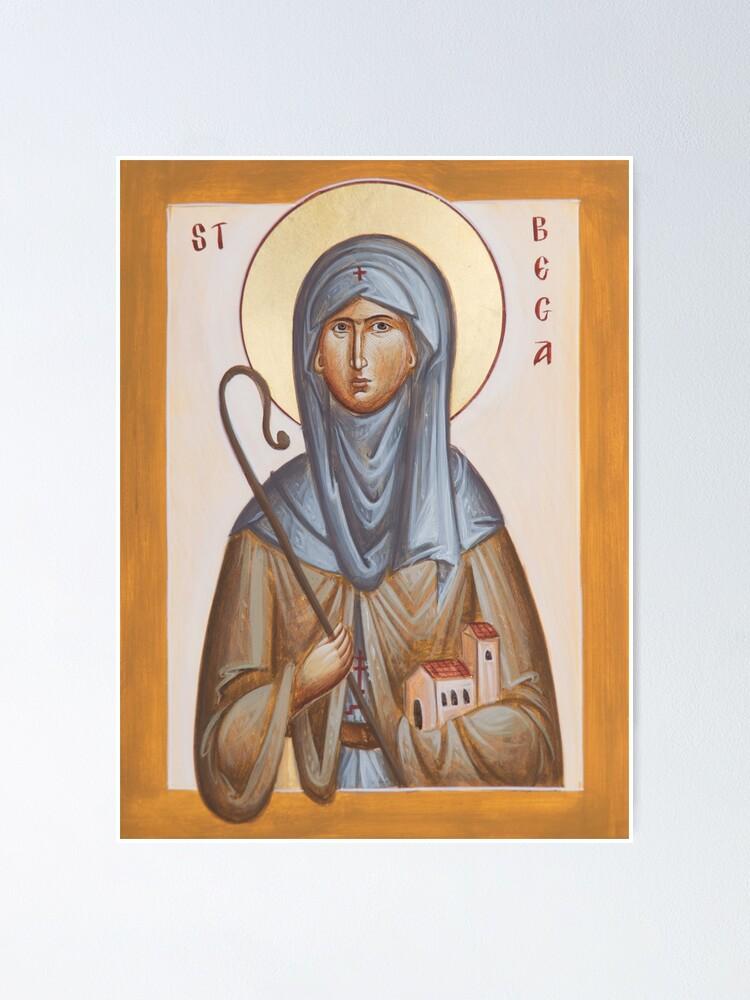 Alternate view of St Bega Poster