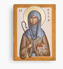 St Bega Canvas Print