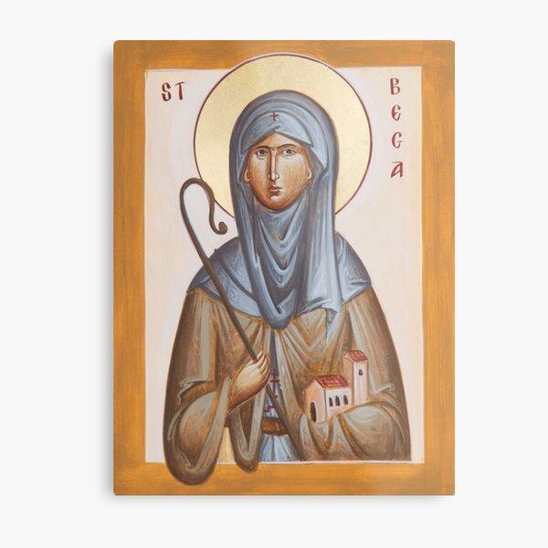 St Bega Metal Print