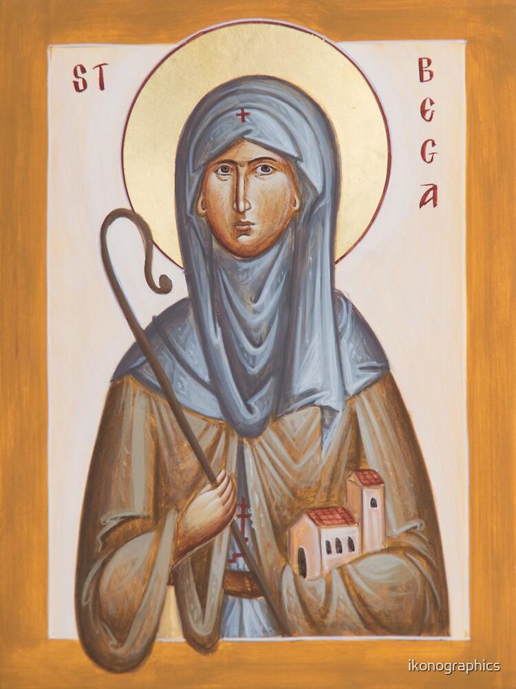 St Bega by ikonographics