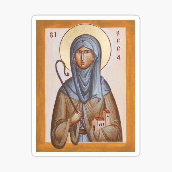 St Bega Sticker