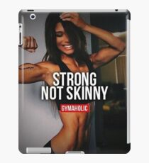 Strong, Not Skinny iPad Case/Skin