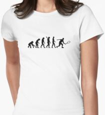 Evolution Squash Women's Fitted T-Shirt
