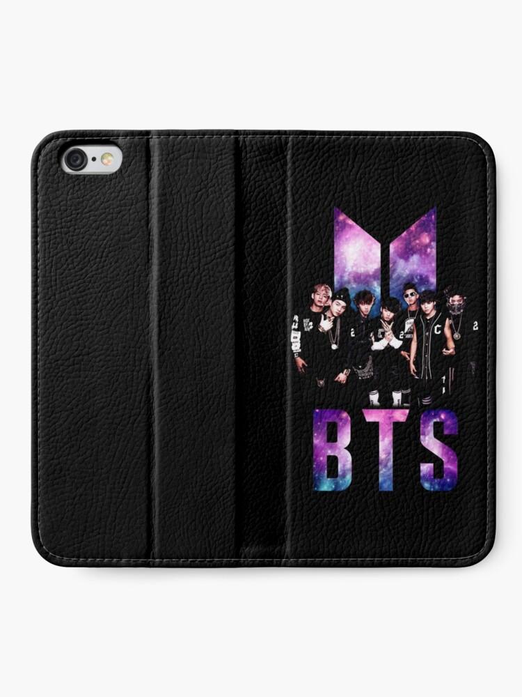 Alternate view of BTS iPhone Wallet