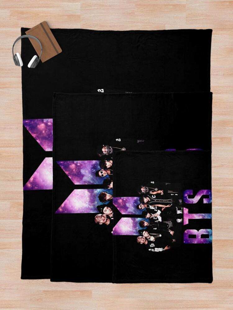 Alternate view of BTS Throw Blanket