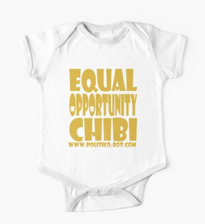 POLITICO'BOT: Equal Opportunity Chibi Kids Clothes