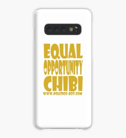 POLITICO'BOT: Equal Opportunity Chibi Case/Skin for Samsung Galaxy