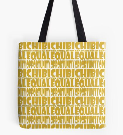 POLITICO'BOT: Equal Opportunity Chibi Tote Bag