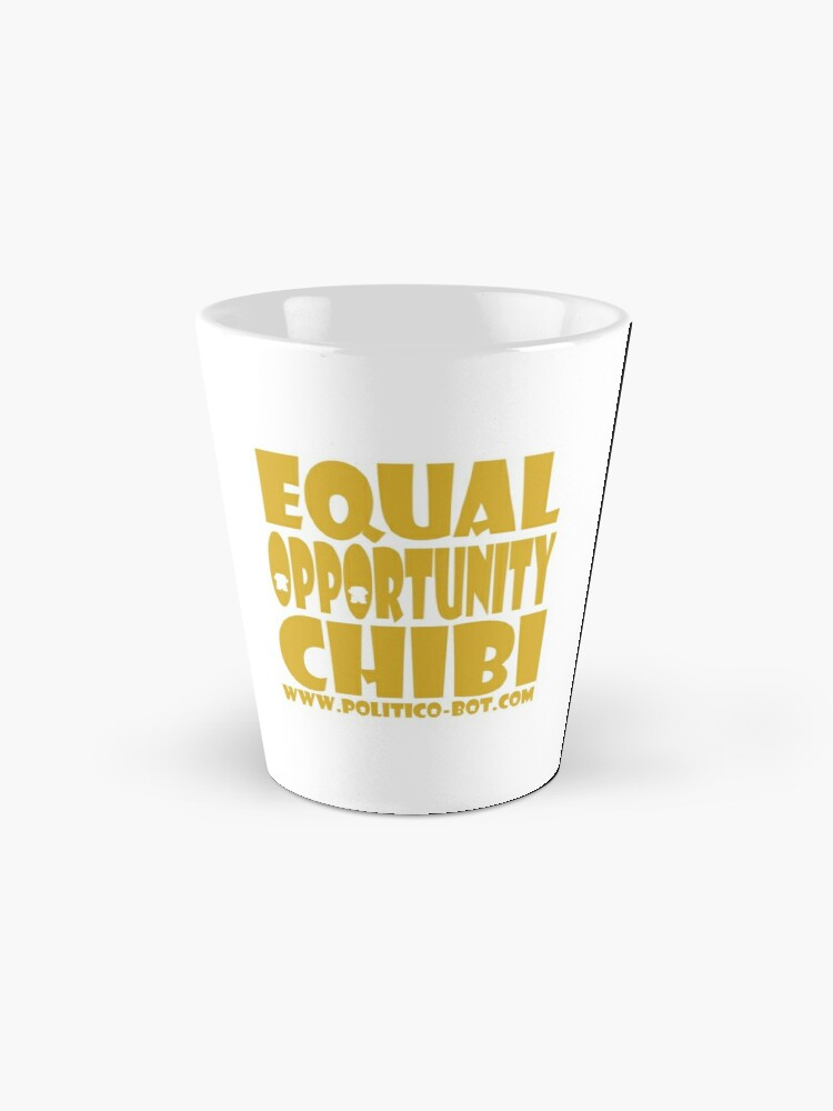 Alternate view of POLITICO'BOT: Equal Opportunity Chibi Mugs