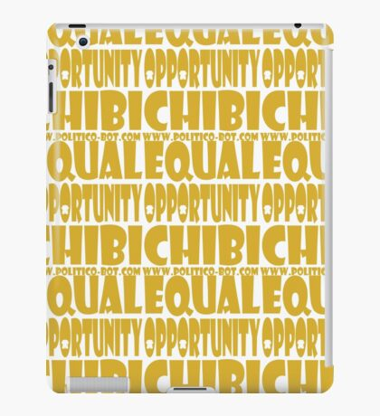 POLITICO'BOT: Equal Opportunity Chibi iPad Case/Skin